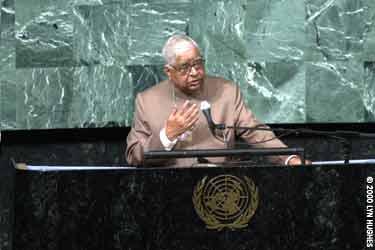 S.N. Goenka at U.N.