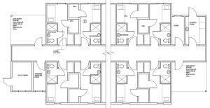 8 Residence Blueprint